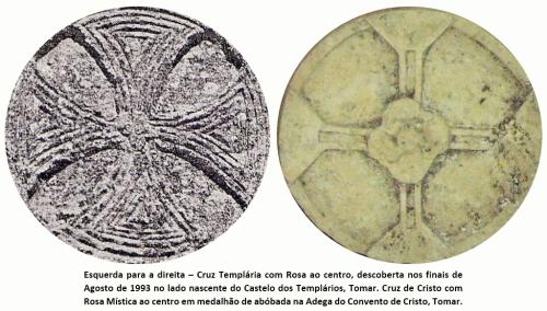 Descrição: Rosacruzes Templo e Cristo